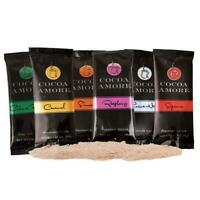 12 PACK Sampler Cocoa Amore® Gourmet Cocoa Mix FREE SHIP