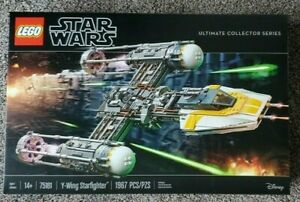 Lego Star Wars 75181 UCS Y Wing Starfighter - Sealed New in Box **Retired**