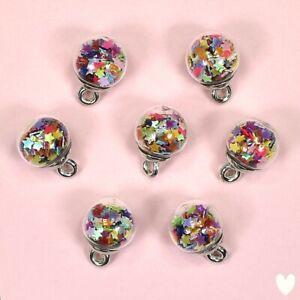 DRESS IT UP Buttons Unicorn Mini Bubbles 10524 - Christmas Baubles Tree