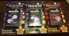 Set of Magic trick decks
