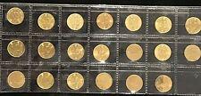 Hong Kong 10 Cent Coin Collection 1980's  Queen Elizabeth II x 20 coins EF - UNC