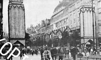 Hannover : Bahnhofstraße beim Sängerfest - um 1925              Z 14-3
