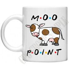 Friends Moo Point TV Series Joey Chandler Ross Monica Rachel Phoebe 11oz Mug
