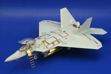 eduard 72485 1/72 Aircraft- F22 Raptor Exterior detail set for Revell