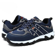 Larnmern Safety Steel Toe Work Boots Construction Anti Puncture Breathable Shoes