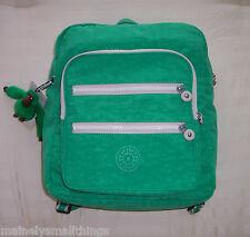 NWT Kipling KADEN Large Backpack Island Green Spectator BP3912