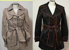 Button Unbranded Woman's Trench Coats and Macs