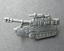 US ARMY HOWITZER PALADIN M-109 BATTLE TANK PIN BADGE 1.2 INCHES