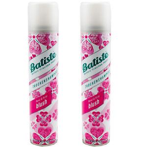 Batiste Trockenshampoo floral & flirty blush verführerischer Duft 2 x 200 ml
