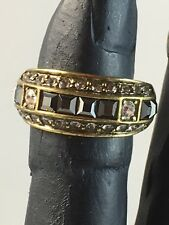 """HEIDI DAUS """"Tantalizing"""" Crystal-Accented Ring size 6"""