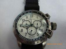 Nautica BIG SWISS Chronograph Date Movement,with New Band.Retail$550.