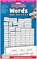 Fiesta Crafts MAGNETIC FIRST WORDS - YEARS 3, 4, 5 Educational Toy BN