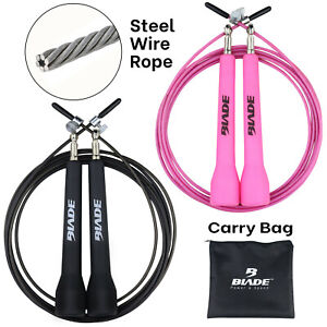 Skipping Rope Jumping Speed Jump Exercise Boxing Gym Fitness Workout Adult Girls