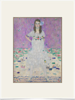GUSTAV KLIMT MADA PRIMAVESI LIMITED EDITION BIG BORDERS ART PRINT 18X24 purple