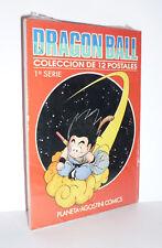 DRAGONBALL 1° SERIE (Planeta-De Agostini Comics) DODICI 12 CARTOLINE NUOVE