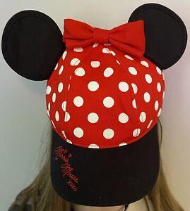 Bnwt Girls Minnie Mouse Hat Walt Disney World