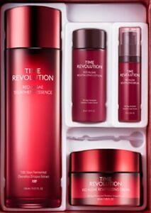 Missha Time Revolution Red Algae Treatment 2pcs Set Anti Aging Wrinkle care