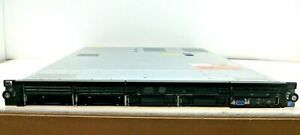 HP ProLiant DL360 G7 4 Bay Server Xeon Quad Core E5506 @ 2.13GHz 2x PSU 2x 146GB