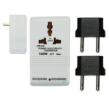 110V/120V to 220V/240V Step-Up&Down Voltage Converter 100W Transformer Travel