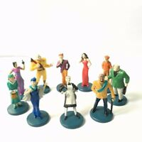 Lot 10pcs Suspects Pieces Tokens Movers Characters Clue Game Figure Xmas Gift
