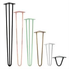 4x Hairpin Legs Tischbeine Tischkufen Haarnadelbeine Tischgestell Hairpinlegs