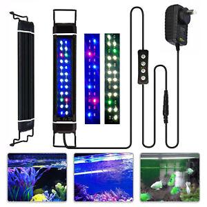 45-60cm Aquarium LED Lighting Marine Full Spectrum Light Moonlight with Timer