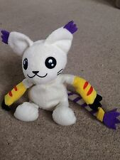 Digimon Adventure Digi-Pal Bandai 1999 Gatomon Beanie Bean Bag Soft Plush Toy 6""