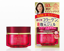 KOSE GRACE ONE Rich Collagen Repair Gel Cream All-in-one Gel for Age 50s 100g