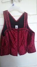 Civil War, Reenactor, Old West, Victorian Womens Vest