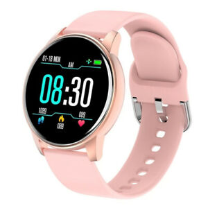 Smart Watch Fitness Tracker With Silicon Strap