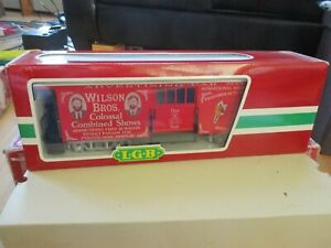 Wilson Bros Circus 3084DG Advertising car NEW sale by original designer