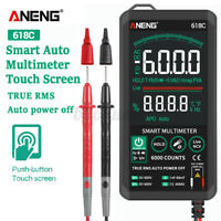 ANENG Smart Touch Digital Multimeter LCD Ohmmeter Auto Tester Voltmeter RMS