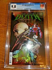 Dark Nights Death Metal #5 Capullo Foil Cover CGC 9.8 NM/M Superman Lobo 1st Pr