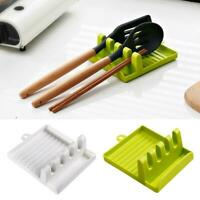 Kitchen Shelf Spoon Spatula Pot Lid Holder Rack Stand Holder Groove Design