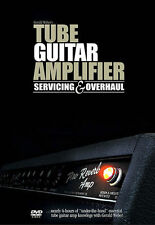 Gerald Weber Tube Guitar Amplifier Service & Overhaul Amp DVD NEW!