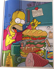 """SIMPSONS TV SHOW MINI POSTER 2007 14""""X10 1/2"""" HOMER DIET STARTS IN THE MORNING"""