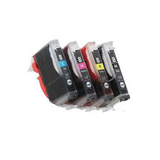 4 Cartuccia Di Inchiostro Per Stampante Canon iP4200 IP4300 iP4500 iP5100 iP5200 iP5200R