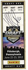 Nail Yakupov Autographed Replica 2012 NHL Draft Ticket - Panini Hologram COA