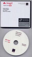 DAVID GUETTA Love Is Gone 2007 UK 1-track promo test DVD