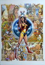 WONDER WOMAN 600 COVER Print DC Jimenez art