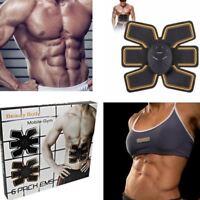 Nuevo 6 Paquete Ems Entrenador Abdominal Toning Músculo Toner ABS Inteligente