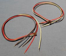 2 NEW QUICK CONNECT ELECTRIC GUITAR 5 WIRE CABLES FOR EMG PICKUPS OTHERS