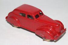 Tootsietoy 1940 LaSalle Sedan, Red, Original #6