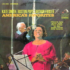 KATE SMITH & ARTHUR FIEDLER [NEW_SEALED] RCA LSC-2991 RED SEAL DYNAGROOVE Lp x 1