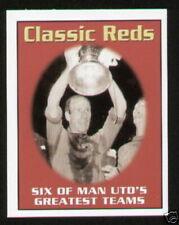 Cartes de football originaux manchester united