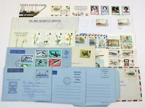 Falkland Islands, etc. Covers, Cards, Air Mails