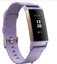 New Sealed Fitbit Charge 3 Fitness Activity Tracker, One size S&L Bands Lave