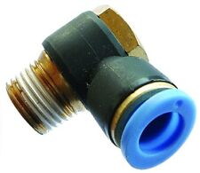 B10-03147 - banjo BSPT & Metric - 4MM X M5 banjo push in fitting
