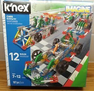 Knex cars building set - 12 models