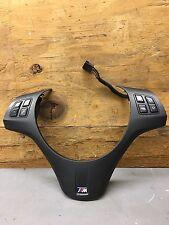BMW Black E90 E91 E92 E93 08-13 M3 Sport Steering Wheel Trim Buttons